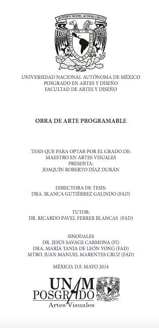 tesina Joaquin Diaz