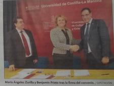 Convenio UCLM-Diputación para la recuperación de los fondos GME