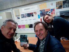 Sergio Santi visita a Fuzzy Gab .4
