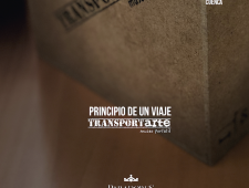 Principio de un viaje. transportArte -Parador de Cuenca-.