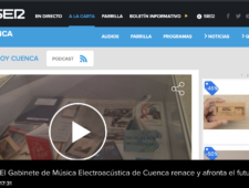 El Gabinete de Música Electroacústica de Cuenca renace y afronta el futuro con optimismo